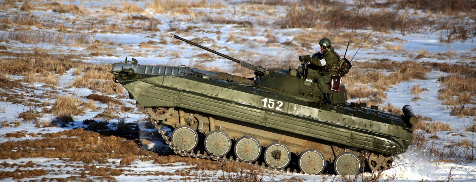 Adrenalinová jazda bojovým vozidlom BVP 2